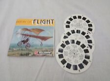 HISTORY OF FLIGHT WITH B & W STEREOGRAMS VIEWMASTER REELS SET (B685)