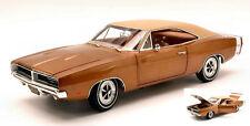 1:18 Authentics Autoworld - 1969 Dodge Charger R/t Bronze Metallic