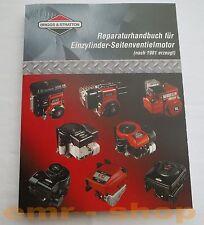 Briggs & Stratton Reparaturhandbuch Einzylinder Seitenventil gesteuererter Motor