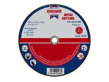 "Faithfull Metal Cutting Abrasive Disc 350mm 14"" Diameter, 3.5mm Thick, 25mm Bore"