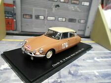 CITROEN ID 19 DS Rallye Monte Carlo 1959 #176 Coltelloni Alexandre Spark 1:43