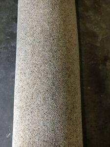 3.50x4m Carpet Remnant 80/20 Wool Twist Vitronic Berber 50oz Heathland