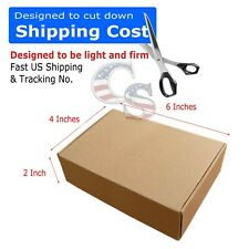 100 6x4x2 Cardboard Shipping Mailer Packing Box Boxes