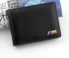 BMW M Deporte Cuero Billetera monedero titular Msport Azul Rojo para Hombre Accesorio Nuevo