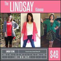 Lularoe Lindsay Kimono ***NWT***Pick Your Pattern***Size M***