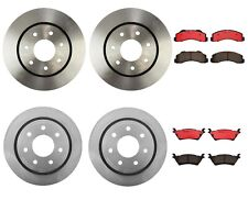 Front Rear Brake Disc Rotors Ceramic Pads Brembo Kit for Ford F-150 HD 2012-2014