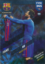 Fifa 365 Cards 2018 - 105 - Lionel Messi - FC Barcelona - Fans