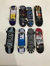 Tech Deck - Plan B Lot Of 8 Fingerboard Skateboards Plan B Good Condition