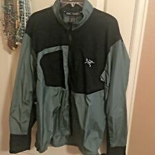 ARC'TERYX LIGHTWEIGHT SHELL 100% NYLON JACKET - SAGE MEN'S LARGE - EX CONDITION