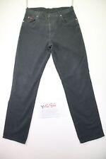 Wrangler Texas Stretch(Cod.Y1484)tg47 W33 L30 jeans usato Vita Alta vintage Nero