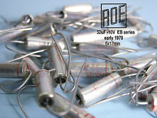 32uF -10V ROE / EB-Series Silver 1973 product Audio Grade !! x 24 PIECES