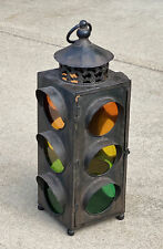 """4 Way Traffic Stop Signal Light Non Electric Reproduction 23"""" Tall"""