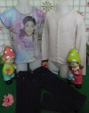 vêtements occasion fille 10 ans,gilet OKAIDI,tee-shirt VIOLETTA,pantalon