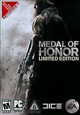 Video Game PC Medal of Honor Limited Edition EA Dice NEW SEALED