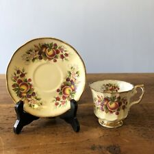 Beautiful Elizabethan Cup Anf Saucer