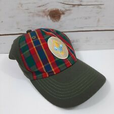 NWOT Boy Scout Uniform Hat Webelos Plaid Fitted Youth S/M