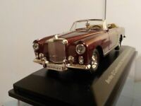 Bentley, Continental S2,  Conv, Crimson, 1/43 Scale