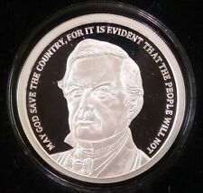 2018 SILVER SHIELD GROUP Millard Fillmore 1oz PROOF MicroMintage RARE OMEGA COA!