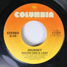 Rock 45 Journey - Walks Like A Lady / People And Places On Columbia