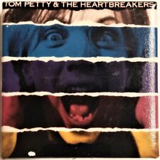 """TOM PETTY & THE HEARTBREAKERS - Official button 1987 """"Let Me Up I've Had Enough"""""""