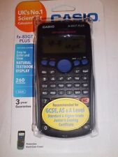 Casio fx-83gt PLUS Calcolatrice Scientifica COMPLETO 260 funzioni SPICCIOLA A-livelli esami