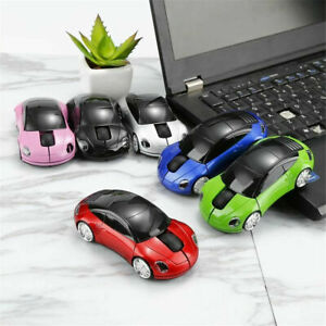 2.4GHz Wireless Optical Mouse Mice USB For PC Laptop Computer 3D Car Model Mouse