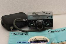 ROLLEI 35 camera with Carl Zeiss 40mm lens MADE IN GERMANY