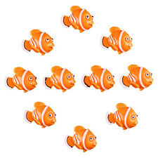 Bulk 10pcs Resin Clown Fish Nemo Flatback Scrapbooking Hair Bow Center Crafts