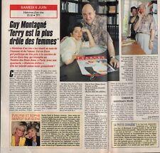 Coupure de presse Clipping 1992 Guy Montagné   (1 page 1/2)