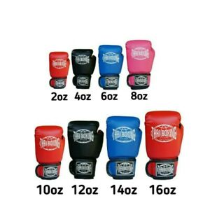 THAI BOXING Children adult boxing gloves affordable Muay Thai