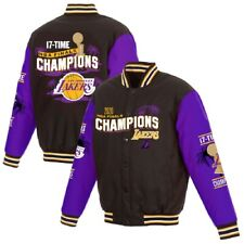 Los Angeles Lakers JH Design 17-Time NBA Finals Champions Varsity Jacket