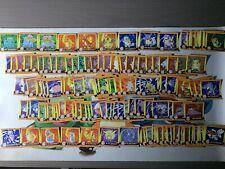 Pokemon komplettes 150/150 Sticker Set 1999 Artbox English Charizard Rare Mint