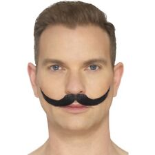 The English Moustache Black Hand Knotted AC