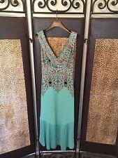 Anthropologie Mauve Canyon Creek Boho Chic Dress Size 0 NWT Retail $168