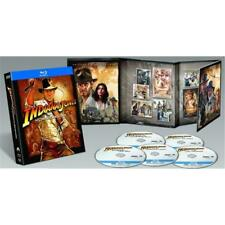 Indiana Jones - Complete Bluray Collection Boxset 5 Disc with Film Cell Like New