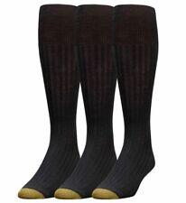 Gold Toe Men's Black Windsor Wool Socks 4116 Size 6-12.5