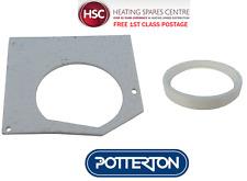 POTTERTON SUPRIMA 30L 40L 50L FAN INLET & OUTLET GASKETS 238147 & 5000857 - NEW