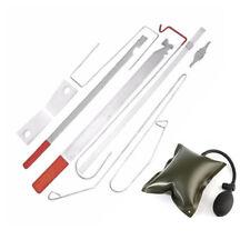 Car Door Lock Out Emergency Open Unlock Key Lost Tool Kit + Inflatable Air Pump