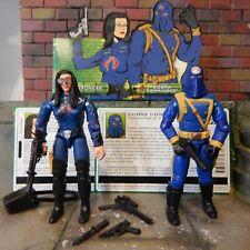 GI Joe Body Part  2004 Cobra Commander V19     Arm Set     C8.5 Very Good