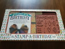 Brand New The Stamp A Birthday Kit New