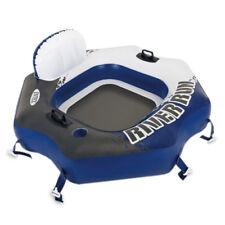 INTEX River Run Connect Lounge Schwimmreifen Luftmatratze mit Getränkehalter