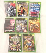 BULK X-BOX GAMES NTSC-J KOREA ONLY asian BLINX GHOULIES MURAKUMO BLOOD WAKE XBOX