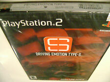 Driving Emotion Type-S (PlayStation 2) BRAND NEW for the PS2 System