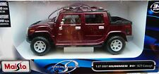 Maisto 2001 Hummer H2 SUT Concept  Pick Up rot met.  in 1:27 Neu & OVP