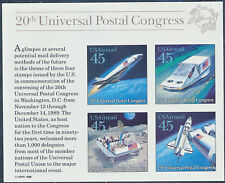 """#C126e """"45¢ 20TH UNIVERSAL POSTAL CONGRESS"""" TAGGING OMITTED MAJOR ERROR HV3412"""