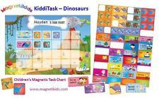 Magnetikids Kiddi Task - Childrens Magnetic Task Chart (Dinosaurs)