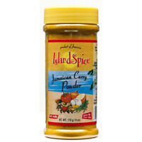 Island Spice Jamaican Curry Powder - 8 oz (Pack of 3)