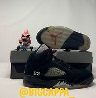 Air Jordan Retro 5 Black Metallic Silver