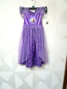 Disney Frozen Elsa Purple 2 Piece Long Pajama PJ Girls Size 4T NWT