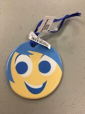 Disneyland Parks Pixar Fest Double Sided Ceramic Ornament Inside Out Joy & Anger